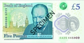 The Bank of England Introduced the New Fiver
