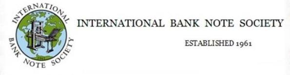 The International Bank Note Society (IBNS)